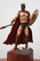 "Yedharo Miniatures YM-5401 ""Spartan King"" -10"
