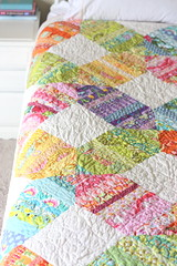 scrappy modern quilt photo by amy smart
