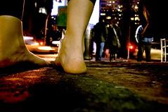 Barefoot in Tribeca photo by Alyssa L. Miller