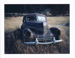 Polaroid @ Guffey, Colorado 1 photo by bob merco