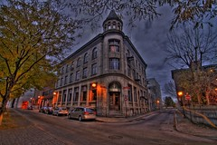 Place Youville, Montreal Downtown HDR photo by lenovo_T500