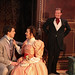 The Importance of Being Earnest, directed by Shawn Douglass: Paul Hurley, Linda Gillum, and Greg Matthew Anderson. Photo by Johnny Knight