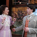 The Importance of Being Earnest: Linda Gillum and Paul Hurley. Photo by Johnny Knight