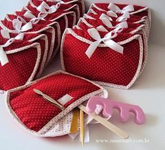 Lembrancinhas Madrinhas: Necessaire com mini kit manicure!!! photo by Mimos Art - Para mamães e noivas