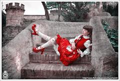 La princesse est ennuyée dans son château photo by lucychan84