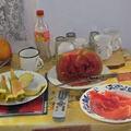 La pastèque saumurée