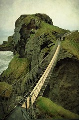 Carrick-a-Rede Rope Bridge photo by Child of Danu