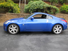 The 350z on the new suspension