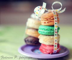 Macarons photo by FedericaPC