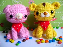 amigurumi  pattern photo by jennyandteddy