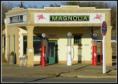 Magnolia Gasoline Station photo by Dusty_73
