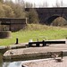 Park Head viaduct and Glazebrook Arm bridge - looking S