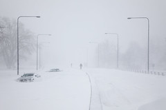 Lake Shore Drive in the Blizzard photo by metroblossom