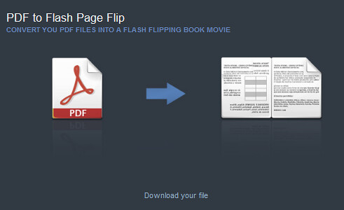 PDF to Flash