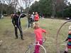 Hoop action, hoop networking