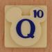 Disney Scrabble Letter Q