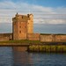 After the rain, Broughty Castle
