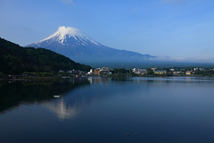 Mount Fuji and Lake Kawaguchi photo by ♥ Spice (^_^)