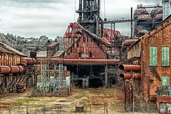 Carrie Furnace - Main Lawn - HDR photo by Dave DiCello