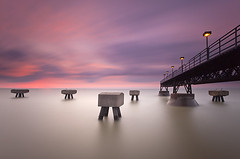 Pier Edgewater Park Lake Erie - Cleveland, Ohio photo by Will Shieh