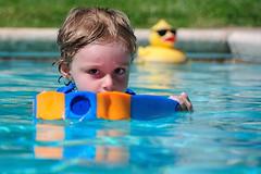 Swim Days are Back photo by John Petrick