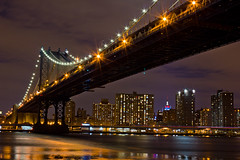 Manhattan Bridge and ESB photo by Laura Ashley Varney