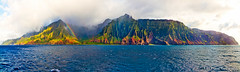 Napali Coast Panorama, Kaua'i Island, Hawaii photo by T. Le Thang