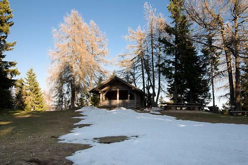 Der letzte Schnee am Kuhleger