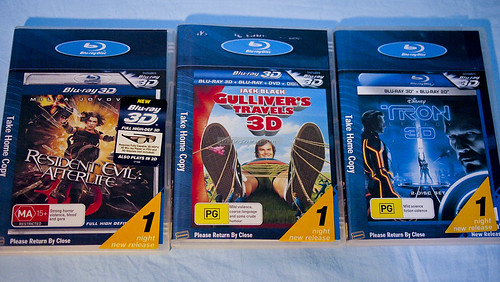 Blu-ray Disc Renting 2011 Sydney