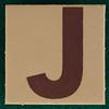 T-Shirt Printing Workshop letter J