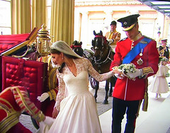 The ROYALS  - Wedding , William and Kate,  Really a nice pair,  (image taken from TV), 494 photo by roba66