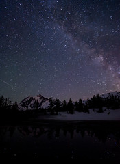The Milky Way Over Mt Shuksan photo by Fresnatic