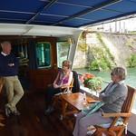 Barge lady aboard C'est la Vie