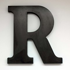 Letter R Large-2 photo by undoneclothing