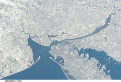 New York City in Winter (NASA, International Space Station, 01/09/11) photo by NASA's Marshall Space Flight Center