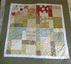 Moda Whimsy charm Quilt photo by Blue Wren Stitching