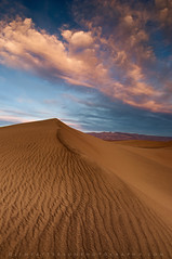 Mesquite Dunes Sunset #1 - Death Valley National Park, California photo by Jim Patterson Photography