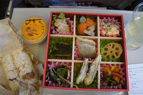 20110116 日航機上京風便當
