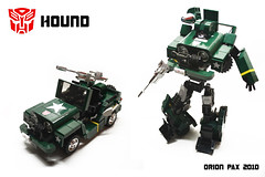 "G1 Hound photo by ""Orion Pax"""