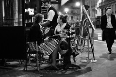 Night in Paris photo by Zdenko Zivkovic