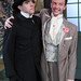 The Importance of Being Earnest: Paul Hurley and Greg Matthew Anderson. Photo by Johnny Knight