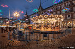 A Carousel For Xmas At Plaza Mayor :: HDR :: DRI photo by servalpe
