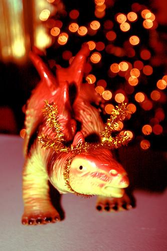 Festive Dinosaur