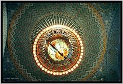 Los Angeles Ca ~ LA Central Public Library ~ Rotunda ~ Zodiac Globe Light Fixture photo by Onasill ~ Bill Badzo