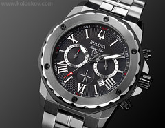 Product photography masterclass: a sample photo of Bulova photo by Alex Koloskov
