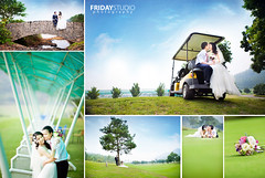 Ảnh cưới Sân Golf photo by www.fridaystudio.net
