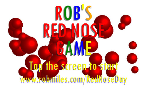 Robs Red Nose Day Windows Phone App