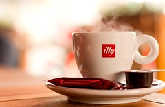 illy coffee photo by Planetmonkeys