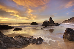 The Monolith of Grey Whale Cove #1, San Mateo County, California photo by PatrickSmithPhotography