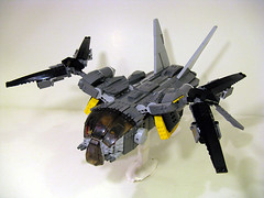 VT-12 Raptor- Hover Mode photo by M.R. Yoder